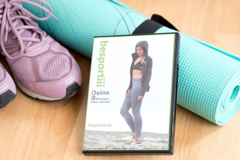 besportii 8 wochen fitnessprogramm trainings dvd