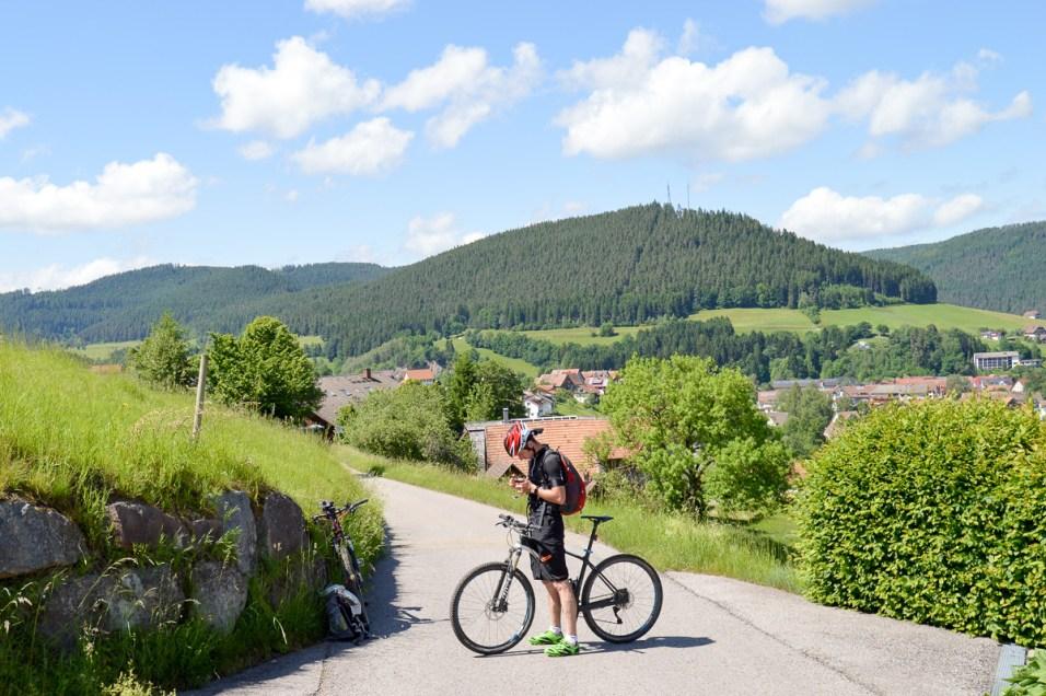 Baiersbronn Schwarzwald Mountainbike