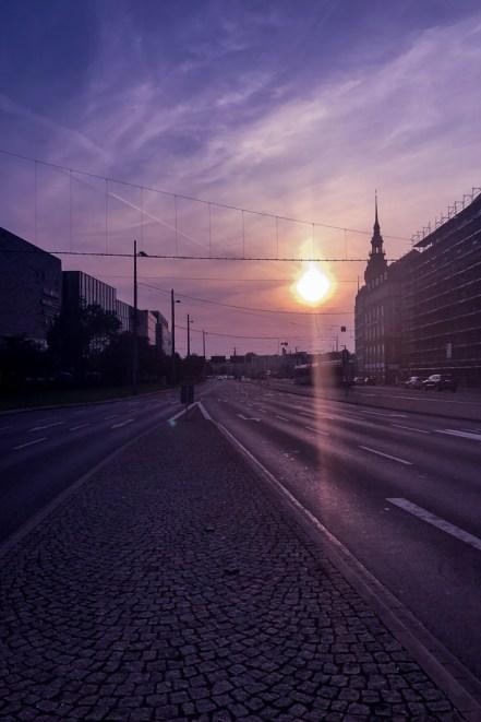 Rotkaeppchen fruchtsecco deutschlandtour Leipzig Sonnenuntergang
