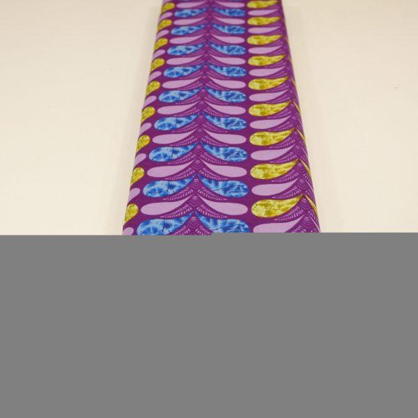 57.01234.027 Katoen Africa Leaves paars