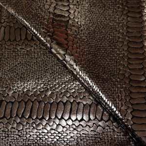 57.11004.008 Lycra Slangenprint zilver - zwart
