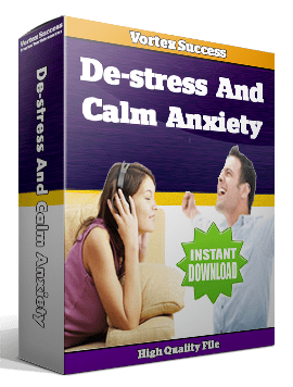 De-stress And Calm Anxiety