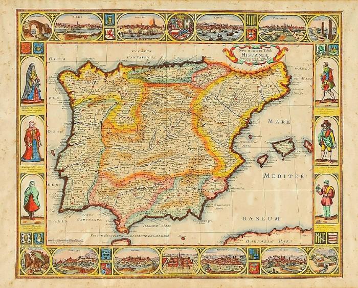 mapa da Ibéria