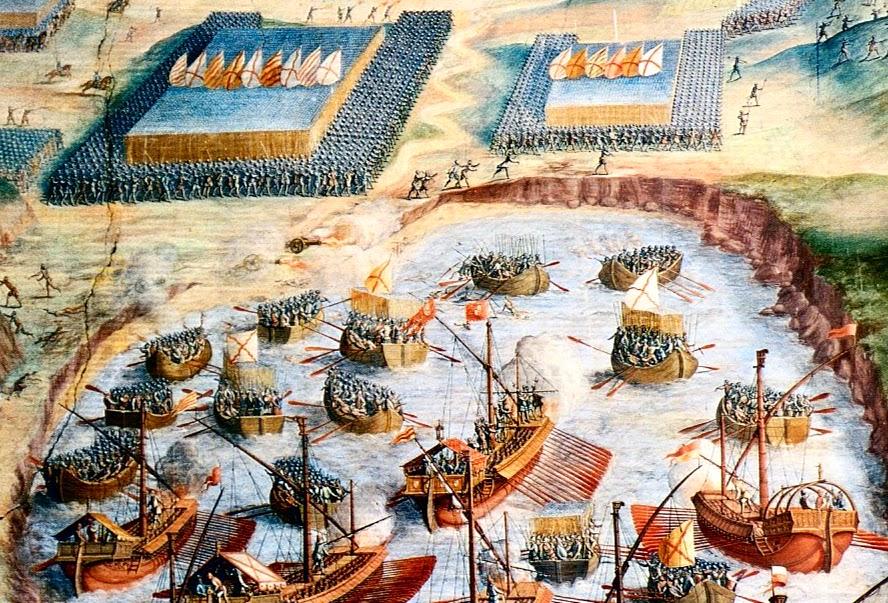 Desembarque das tropas espanholas na Ilha Terceira
