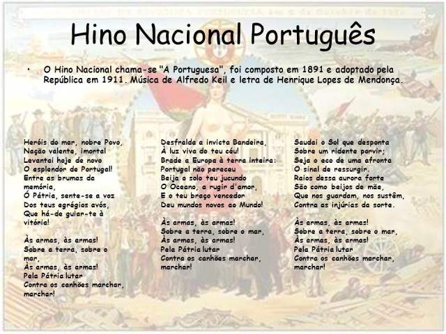 letra completa do hino nacional