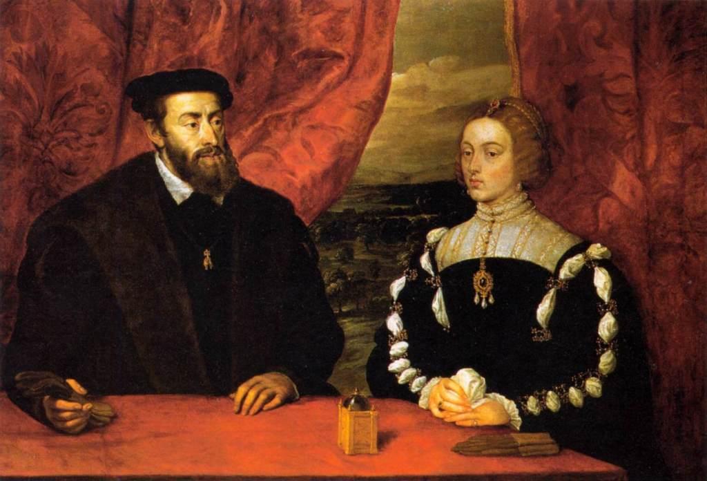 Carlos V e D. Isabel de Portugal