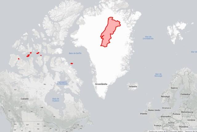 Portugal e Gronelândia