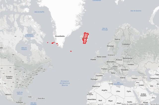 Portugal e Islândia
