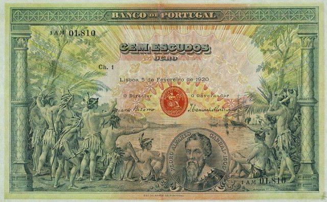 100$00 de 1920
