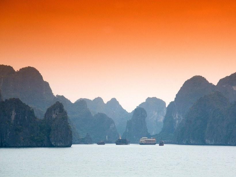 Baía de Halong: Vietname