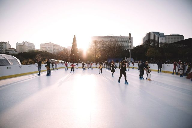 pistas de gelo