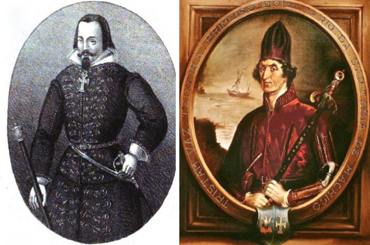Жуан Гонсалвеш Зарко и Тристан Ваш Тейшейра