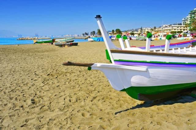 Praia de la Caleta (Málaga)