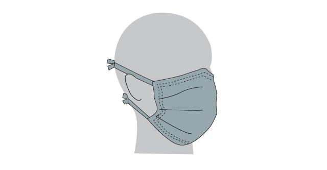 Como fazer mascaras em tecido