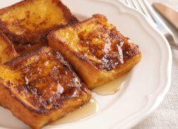 Rabanadas com calda de mel