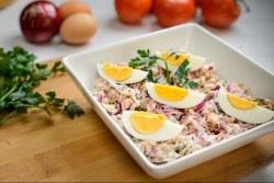 Salada de feijão frade