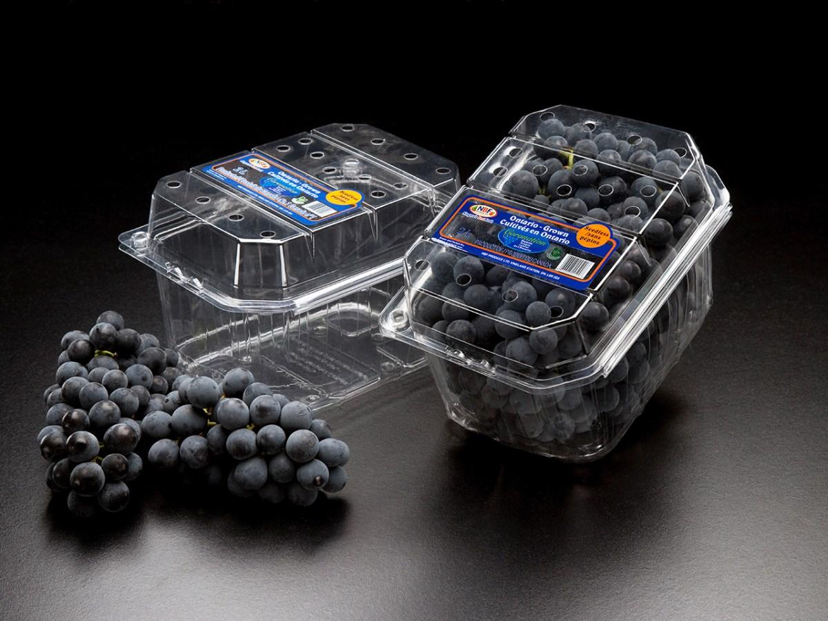 2l Coronation Grape Clam w/ Fruit