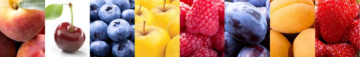 Assortment Of Fruits Banner