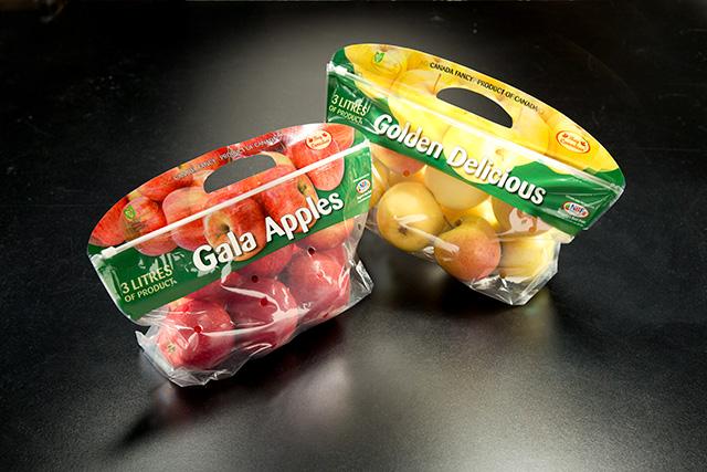 Golden Delicious And Gala Apples Bags Midori Bio