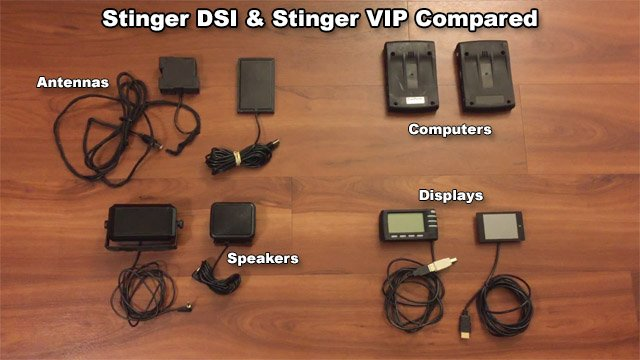 Stinger DSI and VIP compared labeled