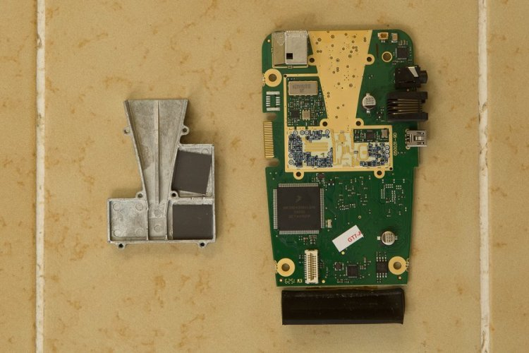 GT-7 horn and RF board
