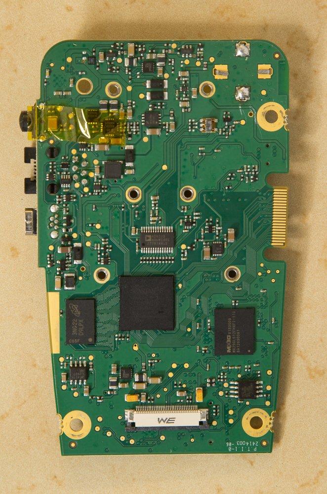 Max2 main PCB rear