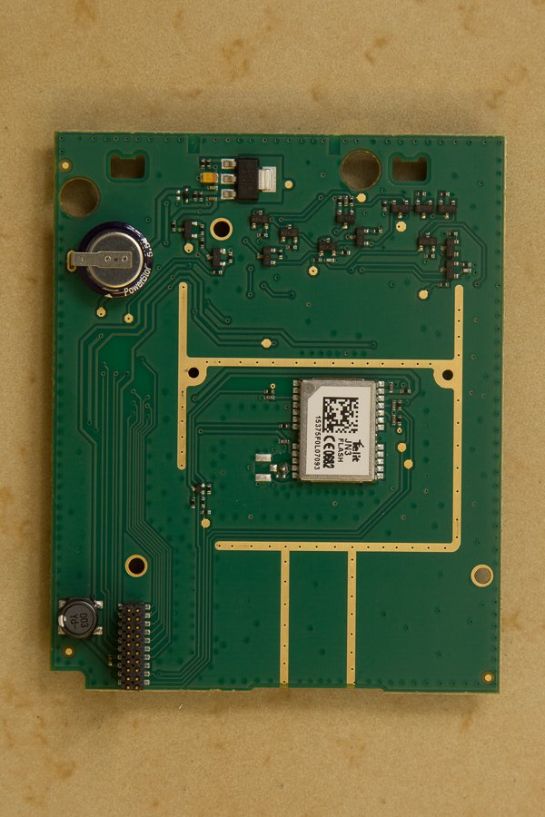 Max360 secondary PCB rear