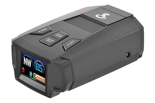 cobra spx 7800bt radar detector stock photo