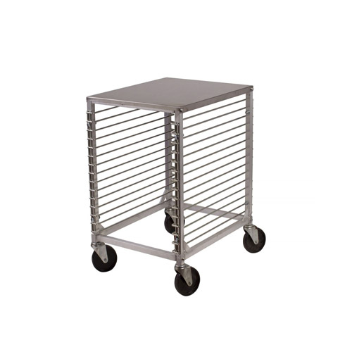 winco alrk 15 15 pan counter height bun pan rack