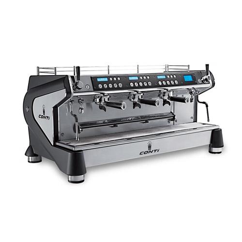 Conti Monte Carlo 3gr 3 Group Espresso Machine Vortex Restaurant Equipment