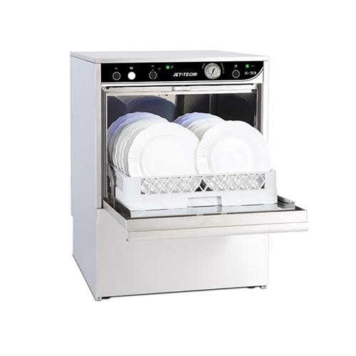 jet tech x 33 low temperature 37 racks hour undercounter dishwasher