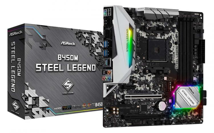 15490 Asrock B450m Steel Legend