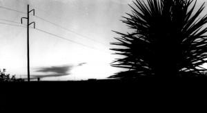 Sunset near Fort Stockton, Texas (1996)