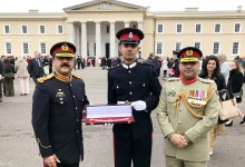 Pakistan Army cadet clinches medal at Royal Military Academy Sandhurst
