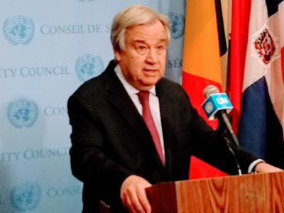 UN chief laments lack of support for global cease-fire