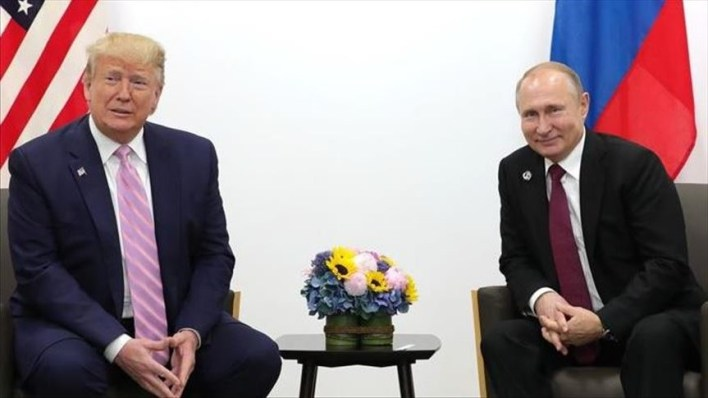 US, Russian presidents talk over phone on G7 summit