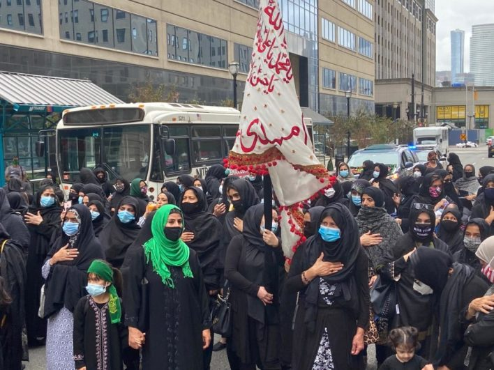 10th Annual Procession in memory of the captives of Karbala.