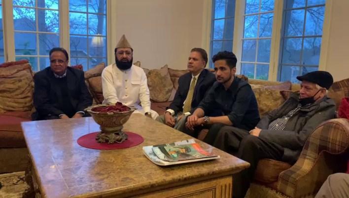 Malik Imtiaz Pakistani entrepreneur host Iftar dinner at his residence in New Jersey.