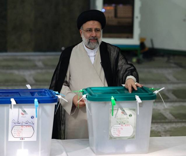 Ebrahim Raisi wins Iran presidential vote.