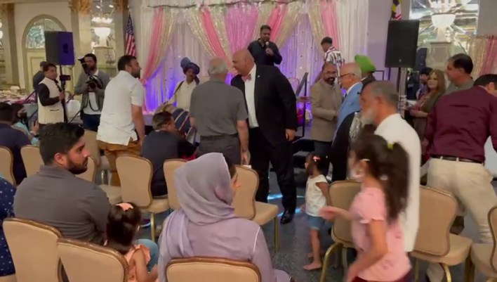 The color full Eid reunion party celebrated in Maryland.