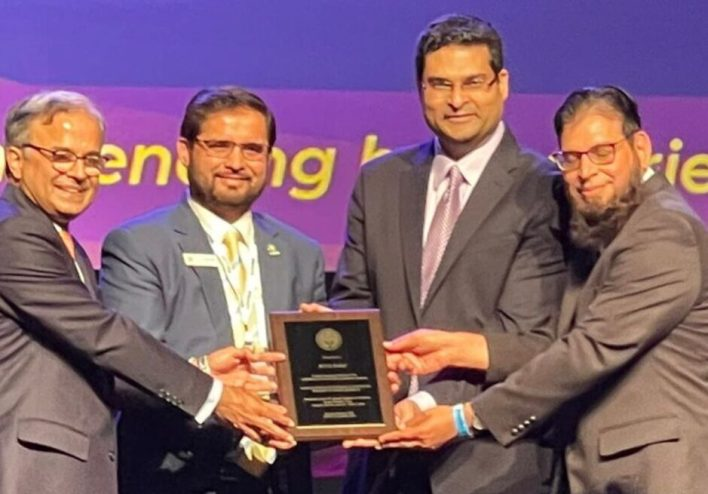ICNA Relief has bestowed Community Service Award from APPNA.