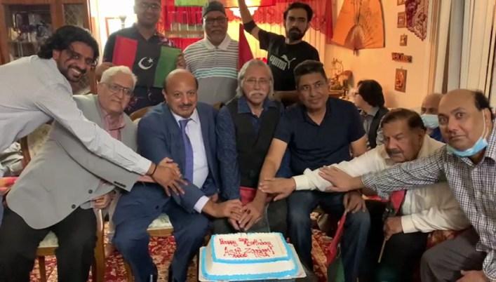 Asif Zardari 66th birthday celebrations in Queens, NYC.