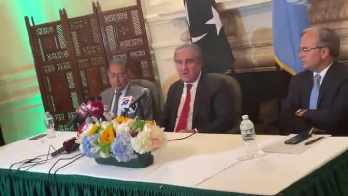 P.M. Imran high-lightened Kashmir issue in full at UNGA address, F.M.