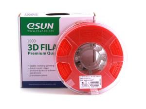 Filaments 3D PLA+ de qualité et résistant rouge