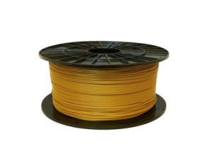 Filament impression 3D PLA jaune doré