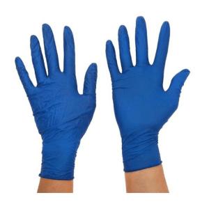 100 gants de protection en Nitrile, en caoutchouc nitrile jetables