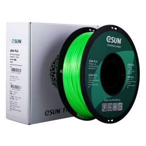 Filament eSilk-PLA couleur vert pour impression 3D