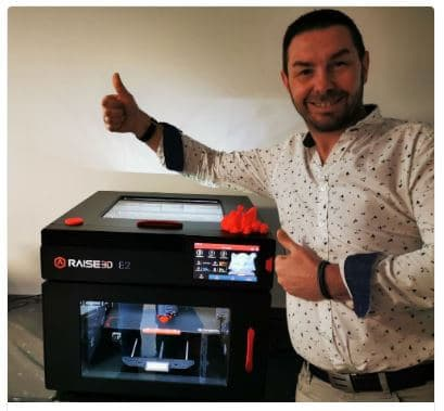 Nouvelle imprimante 3D Raise3D E2