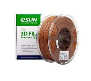 eSun 3D Filament PLA+ 1,75 mm 1 kg Marron clair