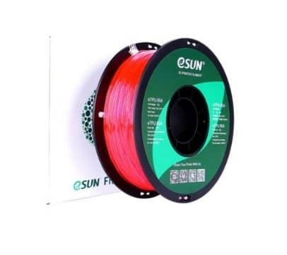 eTPU-95A filament__Transparent rose
